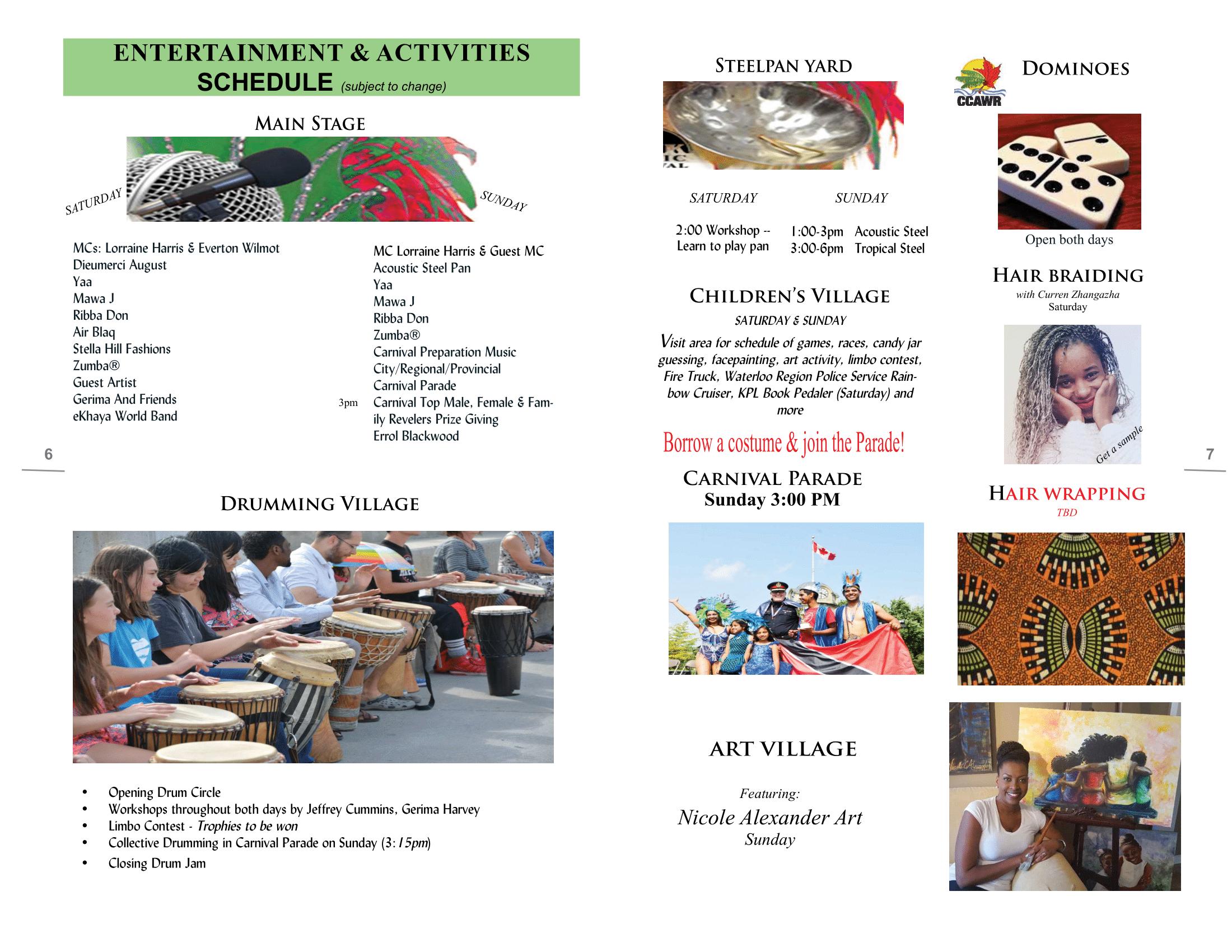 Schedule   LINK Picnic Festival