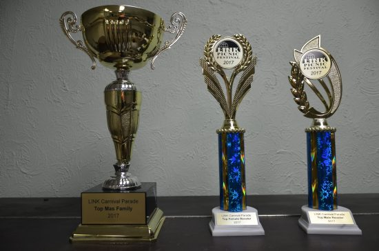 LINK Carnival Parade trophies