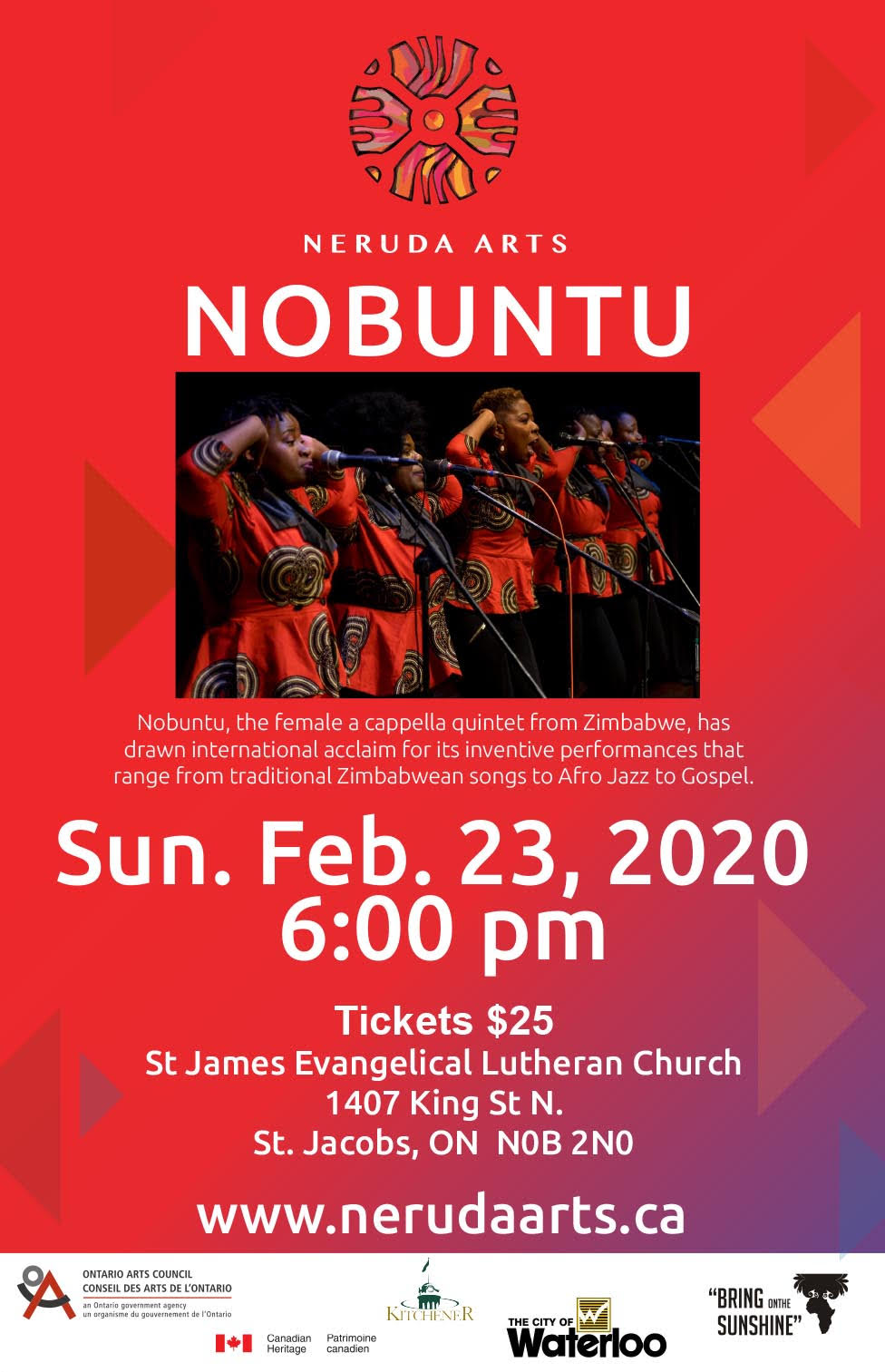 Nobuntu @ St James Evangelical Lutheran Church
